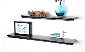 36 floating shelves espresso