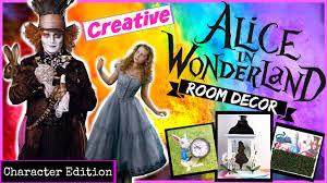 DIY Alice In Wonderland Room Decor⎮Mallory Patrice   YouTube