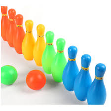 11cm height kids plastic bowling set outdoor mini educational toys new