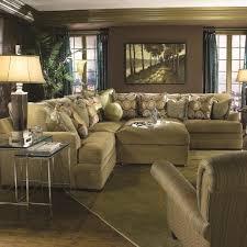 Huntington House 7100 Casual Contemporary L Shape Sectional Sofa