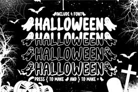 It's halloween time and everyone is busy to make this. Halloween Font By Njstudio Creative Fabrica