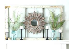 wood window frame decor ideas for decorating with old windows mantel wooden projects art antique frames wo