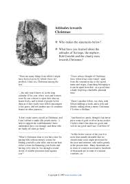 attitudes towards christmas a christmas carol by charles dickens attitudes towards christmas a christmas carol by charles dickens home page
