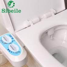 SBLE Hot Cold Water NonElectric Bathroom Toilet Seat Bidet Spray Nozzle  Toilet Seat Gynecological Washing Gun Bidet Attachment