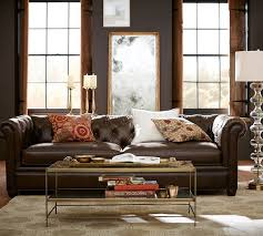 cly pottery barn chesterfield sofa best interior sofas sectionals armchairs in performance fabric 20 leather living room dazzling design ideas