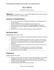 Amazing Annotated Resume Pictures - Simple resume Office Templates .