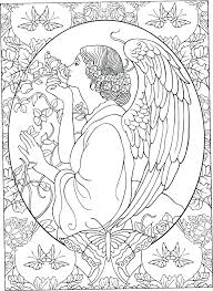 Angel Coloring Book Angels Coloring Pages Print Colouring Pages