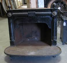 nor east architectural salvage of south hampton nh antique victorian edwardian antique cast iron fireplace surround bedroom