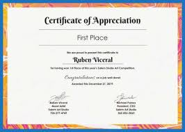 79 New Stocks Of Certificate Of Recognition Template Word