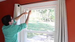 how to weatherize windows with plastic insulation by home repair tutor