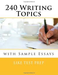 writing topics sample essays by like test prep 240 writing topics sample essays