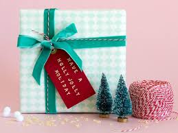 Creative Gift Wrapping Idea  How To Flock Your Gifts With Faux Designer Christmas Gift Wrap