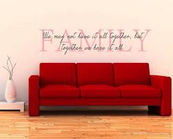 Family Quotes Wall Decal Family Vinyl Art Stickers Beauteous Wall Sticker Quotes