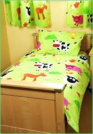farm bedding toddler sets bedding a bright toddler bedding set in farm animal print for