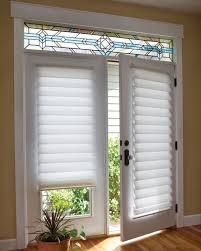 lofty design roman shades for sliding glass doors window treatment idea 3