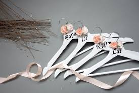 there s nothing more personal than receiving a hanger with your name on it so today i d like to share another wedding diy
