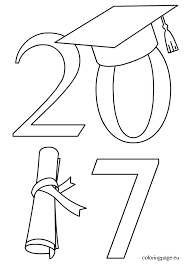 Kindergarten Graduation Coloring Pages Kindergarten Graduation Coloring Pages Graduation Drawings