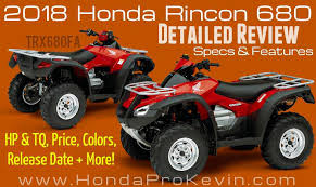 2018 honda 125 price. modren price 2018 honda rincon 680 atv review u0026 specs  trx680 horsepower torque  performance price intended honda 125 price