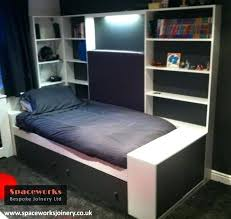 single beds for teenagers. Wonderful Single Storage Beds For Teenagers Custom Made Single Bed With And Shelving  Designed Limited Space   On Single Beds For Teenagers O