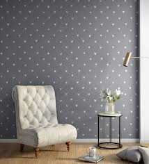 white grey happy hearts wallpaper nilaya wall coverings by asian paints