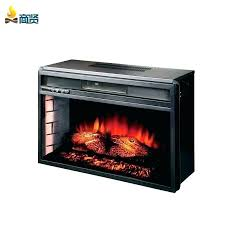 electric fireplace with remote controls