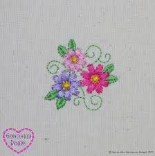 Heirloom Embroidery Designs Machine Embroidery Genniewren Designs Free Three Flowers Machine Embroidery