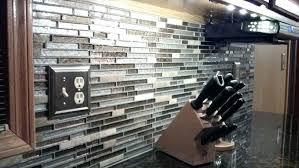 Installing Glass Mosaic Tile Backsplash Simple Inspiration Design