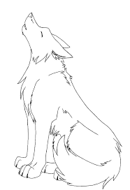 wolf howling drawing anime. Perfect Drawing You Can Use This Lineart For Free Do What You Want Description From  Deviantartcom I Searched On Bingcomimages Inside Wolf Howling Drawing Anime Pinterest