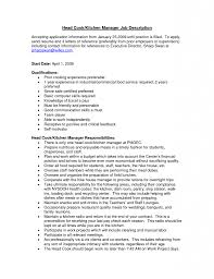 Download Kitchen Manager Resume