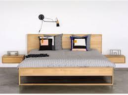Luxury Dark Wood King Size Bed Frame | HINZAGASHT