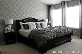 Monochromatic Master Bedroom traditional-bedroom