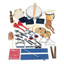 These instruments include any other instrument that makes a sound when struck. Rhythm Band Instruments Economy Elementary Band Set W Rhythm Percussion Instruments At School Outfitters