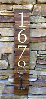 Decorative House Numbers Metal House Numbers Etsy