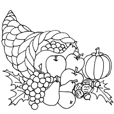 Small Picture Stunning Thanksgiving Food Coloring Pages Pictures Printable