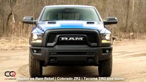 2017 / 2018 Ford Raptor vs Ram Rebel | Colorado ZR2 | Tacoma TRD ...
