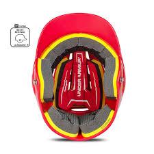 Under Armour Converge Batting Helmet Solid Coated