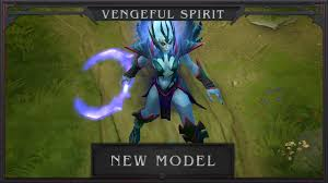 dota 2 new vengeful spirit model march youtube