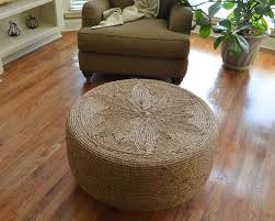 table recycled materials. Diy Tables From Recycled Materials Made With Round Style Seagrass Coffee Table Looking Awesome Adding Flower Motif On Top The Floor Also Best Wood