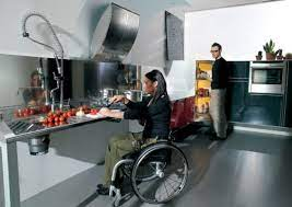 Tips And Kitchen Design Ideas For Physically Challenged People Hometone Home Automation And Smart Home Guide