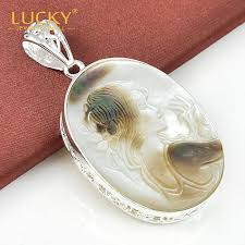 2019 classical style jewelry pendant 100 hand made natural carved cameo shell silver pendant for women p0144 from huayama 34 28 dhgate com