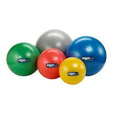 Free Exercise Ball Chart Elgin Burst Resist Exercise Balls Free Exercise Chart