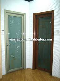glass bedroom door frosted doors design aluminium with curtains sliding