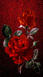 iphone vertical wallpaper red roses vine print on fed sparkle background pretty this one turned out really nice