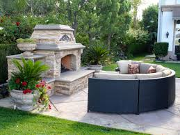 amazing outside fireplace for patio ideas outdoor patio with curved outdoor furniture and outside fireplace