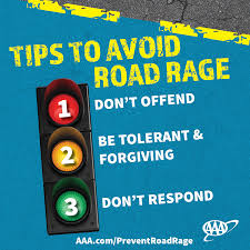 nearly percent of drivers express significant anger aggression   4 · aaafts road rage brochure