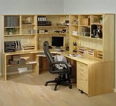 ... Home Office Corner Desk Ideas . Gorgeous ...