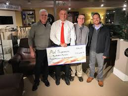 Allen Wayside Furniture donates $10K to Big Brothers Big Sisters
