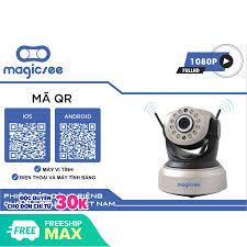 Camera giám sát Magicsee S6300 PLus – Xoay 360 độ, BH 12 tháng, sever ổn  định, load nhanh, camera độ nét cao