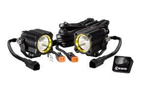 "off road led hid halogen kawasaki teryx lights light bars kc flexâ""¢ led single pair pack system pr"