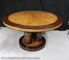 art deco round dining table brown wood ladder back dining chairs tuscan chestnut stain finish glass drinking water adjule levellers home improvement